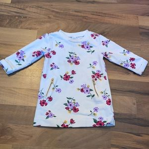 Old Navy 6-12m Floral Tunic Sweater